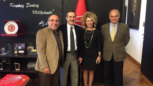 Başkan Ataç'tan CHP'nin TBMM Grubu'na Ziyaret