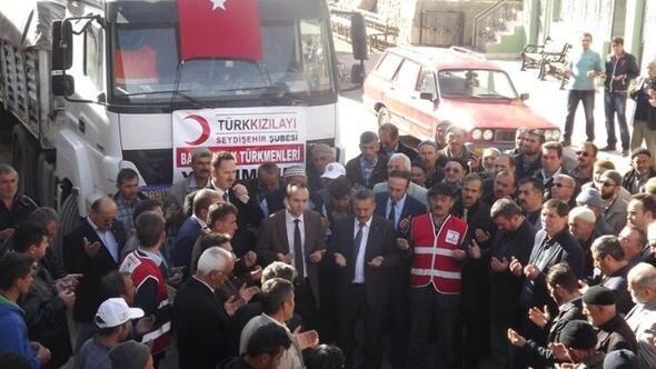 Seydişehir'den Bayır-bucak Türkmenlerine Yardım