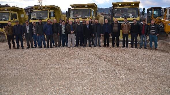 Tokat'ta Karla Mücadele Hazırlıkları