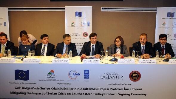 GAP Bölgesinde Suriye Krizinin Etkilerinin Azaltılması Projesi