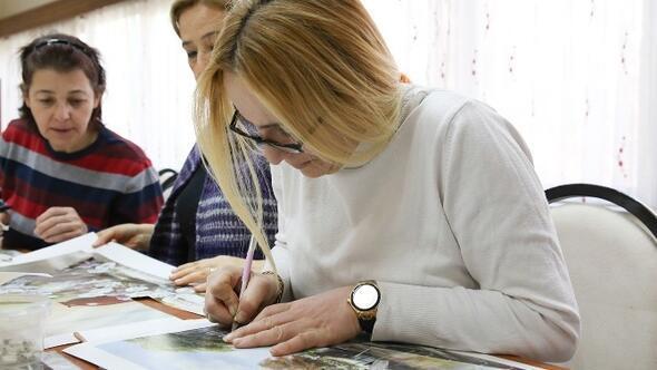Şehitkamil'deki Hanımlar Üç Boyutlu Çalışıyor