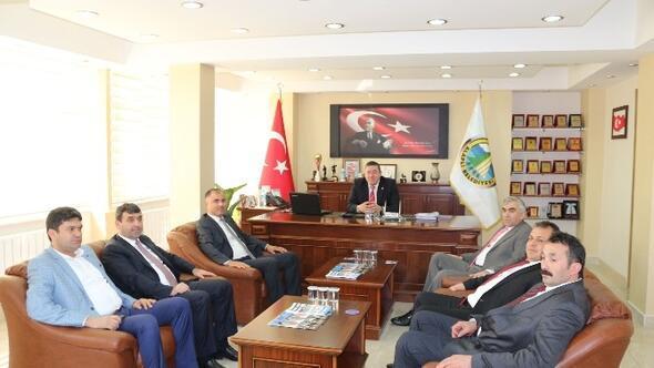 GMİS Yönetimi, Belediye Başkanlarını Ziyaret Etti