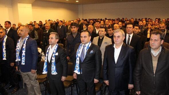 İş Adamı Ali Demirhan Yeniden B.b. Erzurumspor Başkanlığına Seçildi