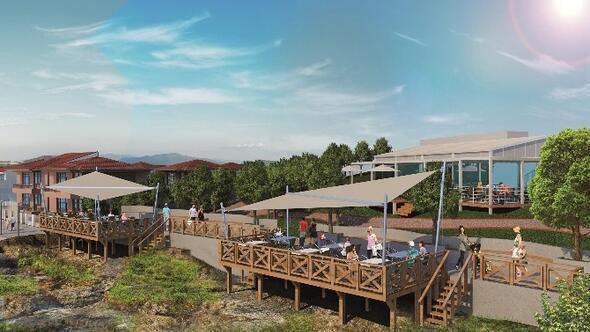 Çukuraltı Sahil Yolu Projesi'ne Otelcilerden Destek