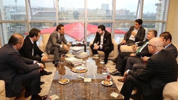Başkan Genç'e Önemli Misafirler
