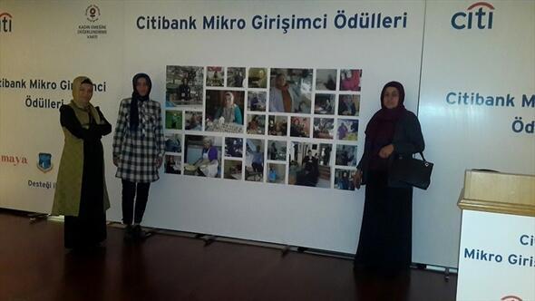 Kızıltepeli kadınların 8. Citibank Mikro Girişimci Ödülleri yarışmasındaki başarısı
