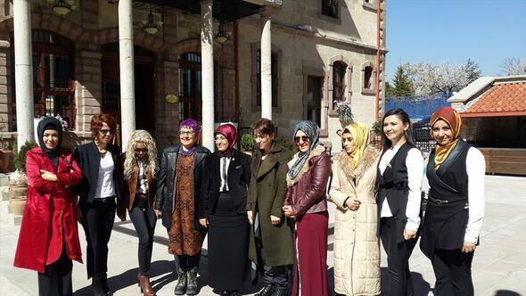 Başkan Fatma Toru, kadın gazetecilerle buluştu