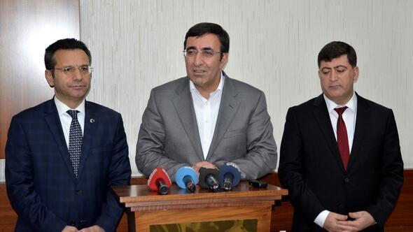 Kalkınma Bakanı Yılmaz Diyarbakırda