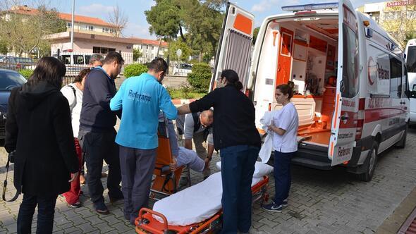 Mahkemeye ambulansla getirildi