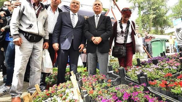 19. Uluslararası Bayındır Çiçek Festivali başladı