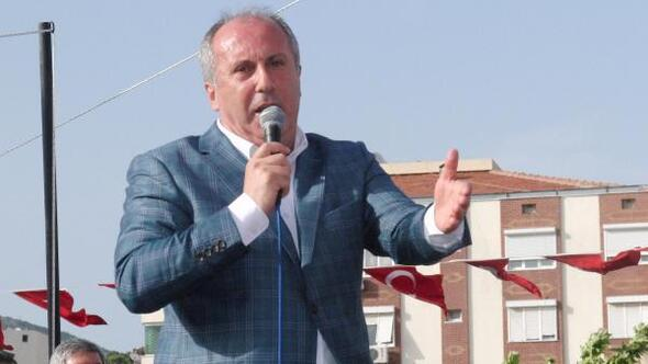 CHPli İnce: 21 milyon oy almış Cumhurbaşkanı, 23 milyon oy almış Başbakanı görevden aldı
