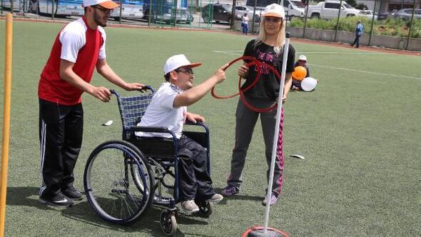 Engelli sporcular Atakumda buluştu