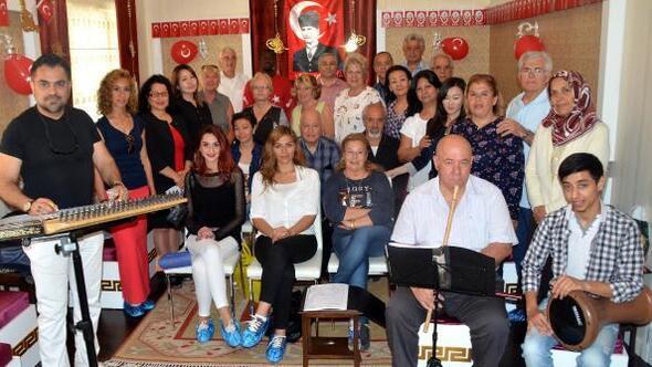 Antalyada yabancılar korosu kuruldu