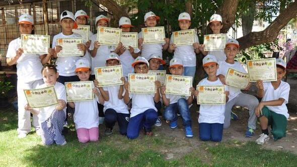 Çocuklar tarımsal üretimi yakından tanıdı