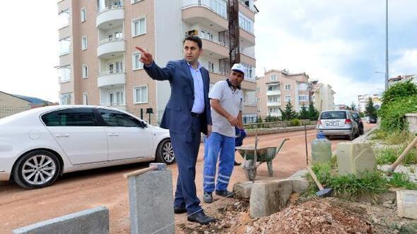 Başkan Eroğlu, çalışmaları yerinde inceledi