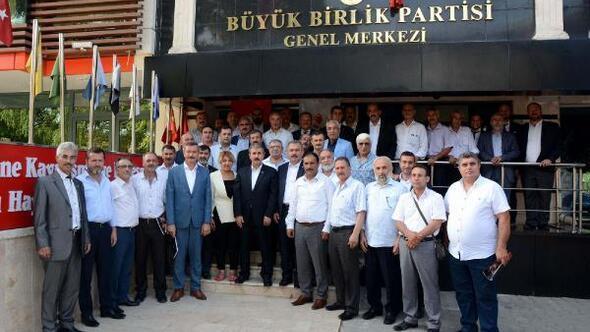 BBP, İl Başkanları Toplantısı sonuç bildirgesini açıkladı