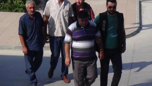 Saman yüklü kamyonda esrar sevkiyatına 3 tutuklama