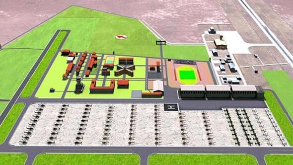 Kara Havacılık Okulu projesi revize edildi