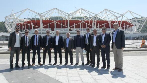 Trabzonspor'da Akyazı seferberliği
