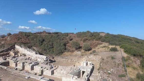 Parion Antik Kenti kazı sezonu sona erdi