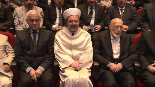 """Diyanet İşleri Başkanı Görmez  """"4. İstanbul Müftüsü İbrahim Bedreddin Elmalı anma programına katıldı"""