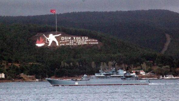 Rus savaş gemisi Caesar Kunikov Akdenize iniyor