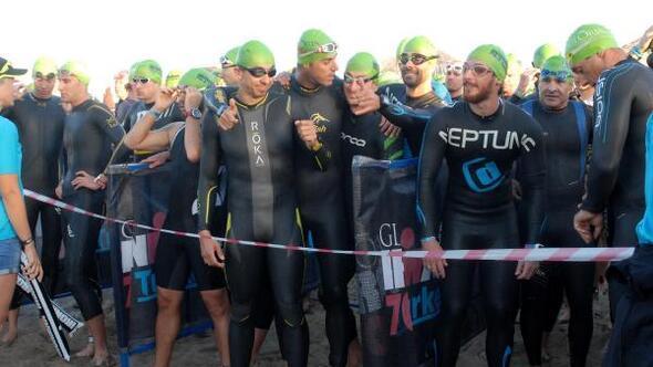 Antalyada Gloria Ironman 70.3 Turkey heyecanı