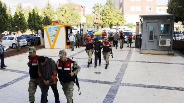 Suriyeden Türkiyeye geçmeye çalışan 3 terörist yakalandı