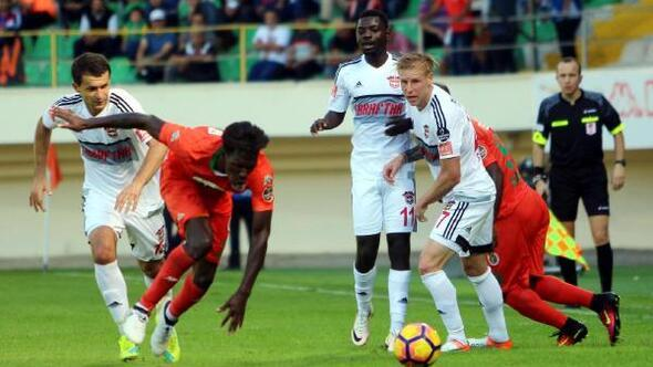 Aytemiz Alanyaspor-Gaziantepspor: 4-3