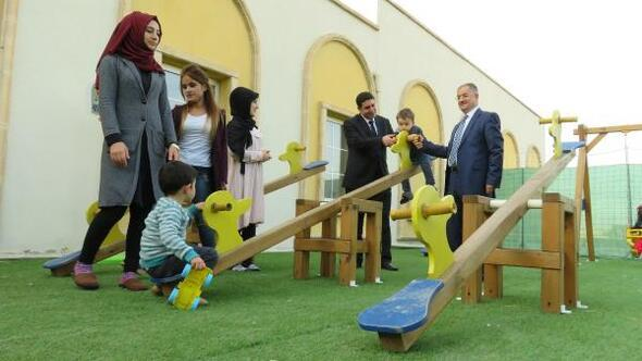 Midyat Devlet Hastanesinde anaokulu açıldı