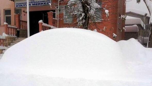 Doğu ve Güneydoğuda kar esareti (4)