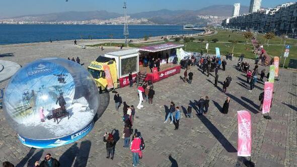 Büyükşehirin turizm TIRı Anadolu turunda