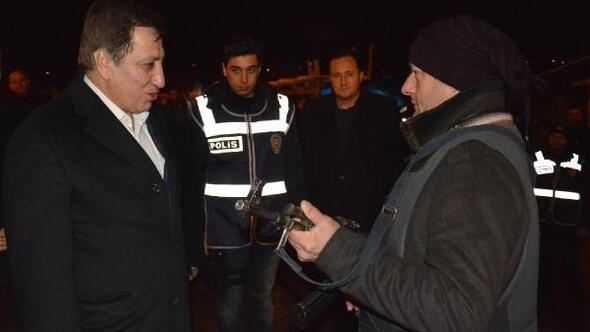 Vali Küçükten jandarma ve polislere yeni yıl ziyareti