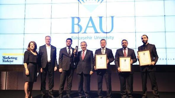 The ONE Awards Bütünleşik Pazarlama Ödülleri'nde eğitimde yılın en iyi markası Bahçeşehir Üniversitesi oldu