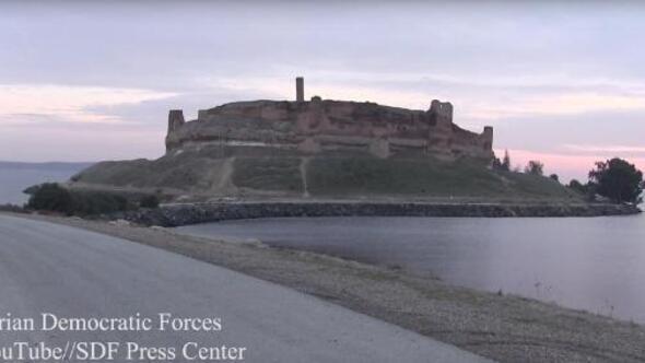 Suriyede Süleyman Şah türbesinin bulunduğu ilk yer olan Caber kalesi DEAŞten kurtarıldı