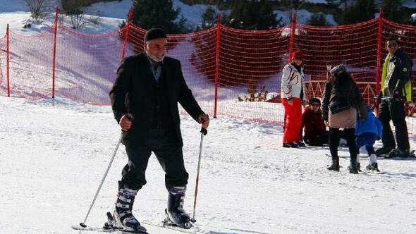 Mustafa  Dedenin kayak keyfi