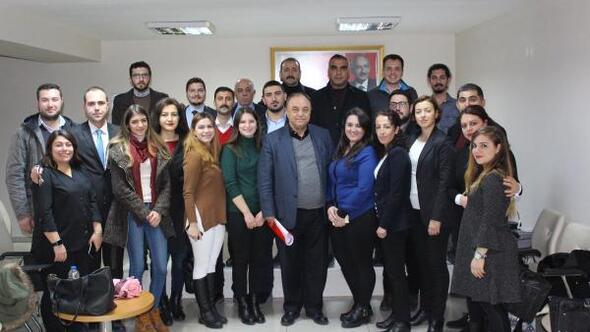 CHP İzmir gençleri ağırladı
