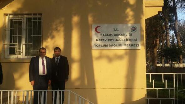 Reyhanlı'ya Göçmen Sağlığı Merkezi