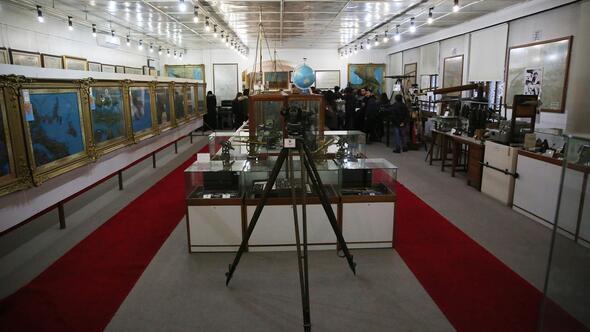 Ankara'nın ilk planıHaritacılık Müzesi'nde