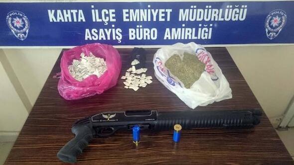 Kahtada uyuşturucu operasyonu