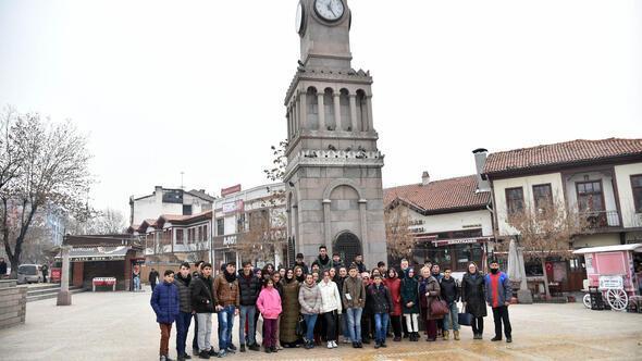 Ardahanlı öğrenciler Altındağ'ı gezdi