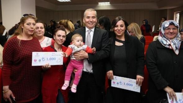 795 kadına 1 milyon 740 bin lira mikrokredi