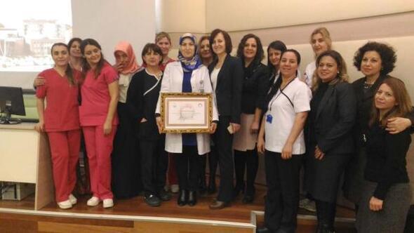 Tire Devlet Hastanesine Anne Dostu ödülü verildi