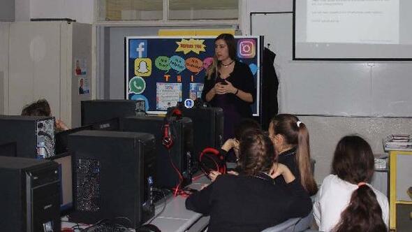 TED Aliağada online internet güvenliği semineri