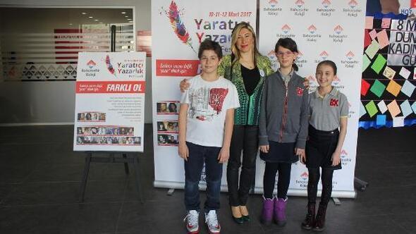 """Çocuklar için """"Yaratıcı Yazarlık Festivali"""" düzenlendi"""