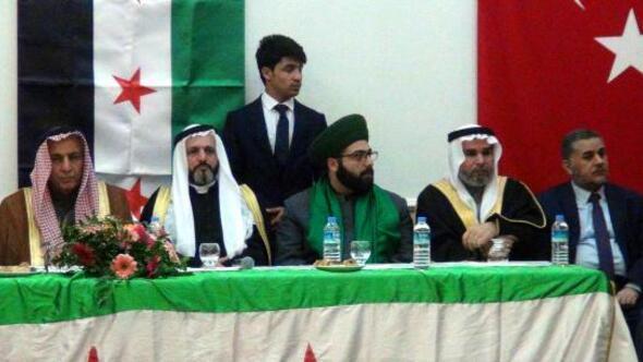 Suriyeli aşiretler Şanlıurfada biraraya geldi