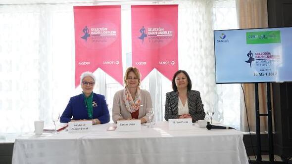 """KAGİDER ve Sanofı Türkiye """"Geleceğin Kadın Liderleri"""" projesini New York'ta tanıttı"""