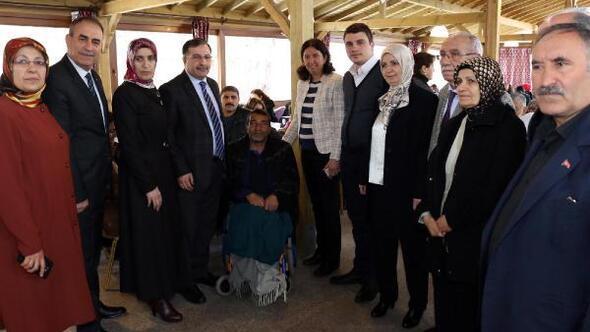 AK Partiden engelliler programı