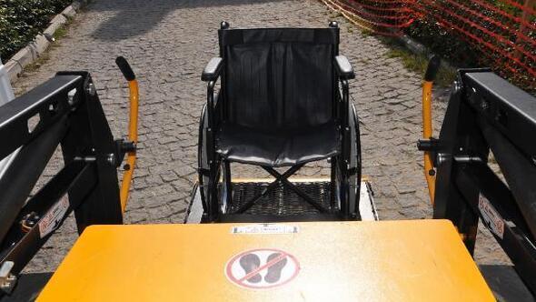 Nakil aracı 381 engelliyi taşıdı