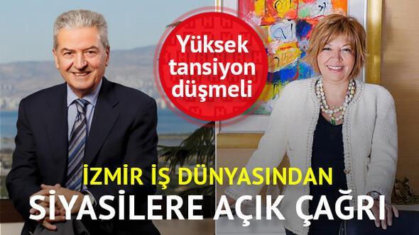 İzmir iş dünyası Artık ekonomi konuşulsun diyor